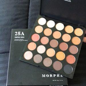 25A copper spice palette